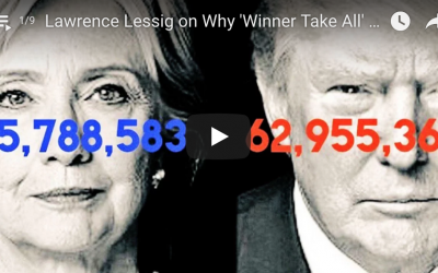 The Majority Report with Sam Seder: Lawrence Lessig on Why 'Winner Take All' Electoral College Votes Have To Go