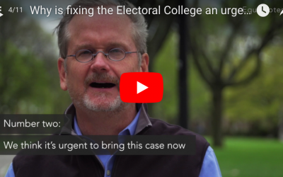 Why is fixing the Electoral College an urgent issue?