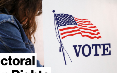 Bloomberg: Winner-Take-All Electoral Practice Faces Voter-Rights Challenge