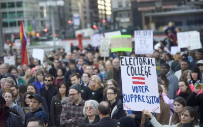 Boston Globe: Challenging the Electoral College's winner take all system in Massachusetts